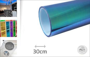 Flipflop blauw lampen folie