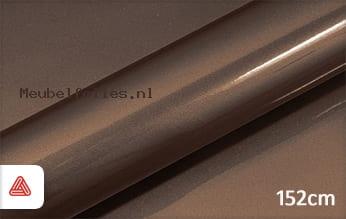 Avery SWF Brown Gloss Metallic meubelfolie