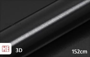 Hexis HX30BA889B Brushed Alu Coal Black Gloss meubelfolie