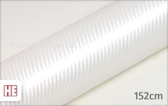 Hexis HX30CABPEB Carbon Pearl White Gloss meubelfolie