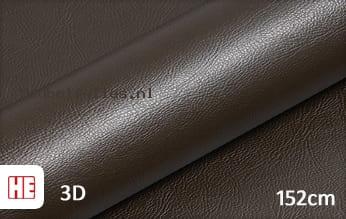 Hexis HX30PGMBRB Grain Leather Brown Gloss meubelfolie