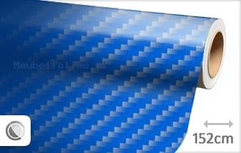 Blauw 2D carbon meubelfolie