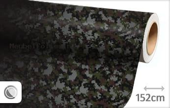 Camouflage digitaal meubelfolie