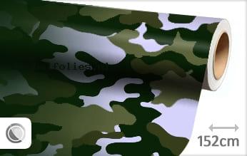 Camouflage groen meubelfolie