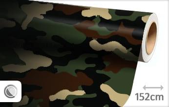 Camouflage leger meubelfolie