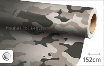 Camouflage meubelfolie