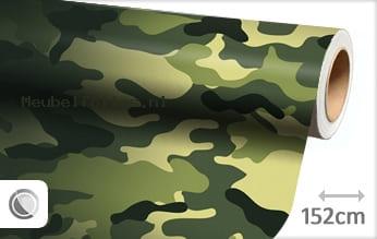 Camouflage oerwoud meubelfolie
