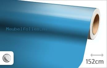 Glans babyblauw meubelfolie