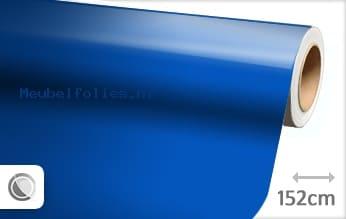 Glans blauw meubelfolie