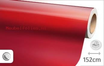 Glans metallic rood meubelfolie