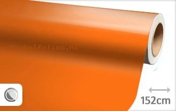 Glans oranje meubelfolie