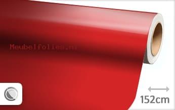Glans rood meubelfolie