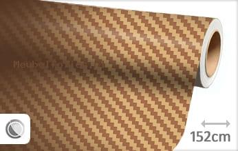 Goud 3D carbon meubelfolie