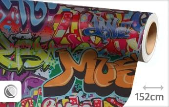 Graffiti meubelfolie