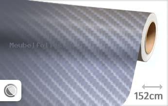 Grijs 4D carbon meubelfolie