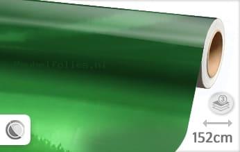 Groen chroom meubelfolie