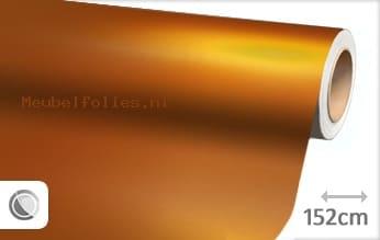 Mat chroom oranje meubelfolie