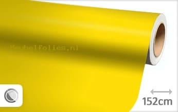 Mat geel meubelfolie