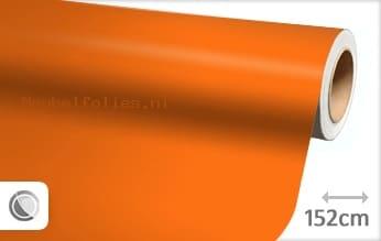 Mat oranje meubelfolie