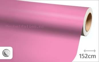 Mat roze meubelfolie