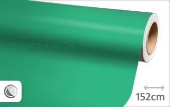 Mat turquoise meubelfolie