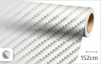 Wit 2D carbon meubelfolie