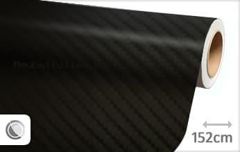 Zwart 4D carbon meubelfolie